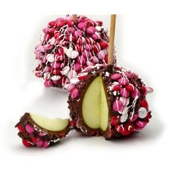 Valentine's Day Chocolate Apple Duet