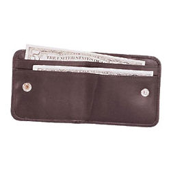 Leather Travel Organizer Passport Casein Brown