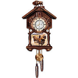US Indian Head Nickel Cuckoo Clock