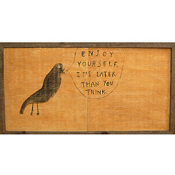 Enjoy Yourself Wall Hanging