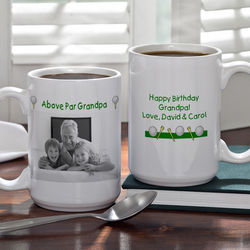 Large Personalized Par-fect Golf Photo Coffee Mug