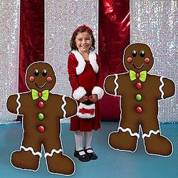 Gingerbread Men Standees