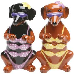 Bikini Hounds Salt and Pepper Shakers