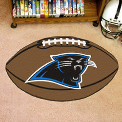 Carolina Panthers Football Fan Mat