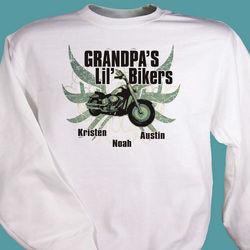 Lil' Bikers Personalized Sweatshirt