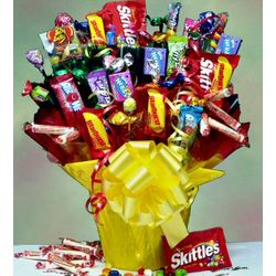 Bloomin' Treats Candy Bouquet