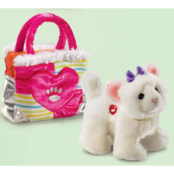 Personalized Purse Pet Fancy Shamcy White Cat