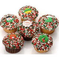 Christmas Gourmet Cupcakes