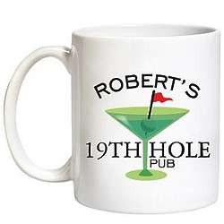 Personalized 19th Hole Mug
