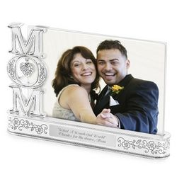 Mom Float Picture Frame