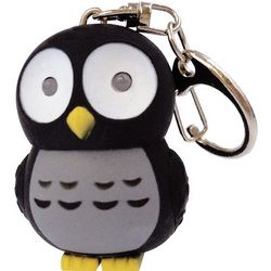 Owl LED Keychain with Sound