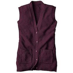 Women's Textured Vest