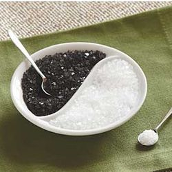 Yin Yang Salt Cellar