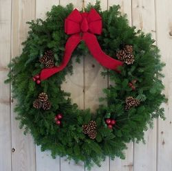 Maine Balsam Christmas Wreath
