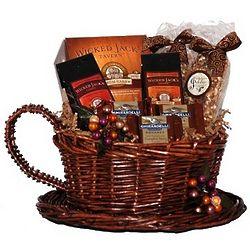 Coffee Break n' Cake Gift Basket