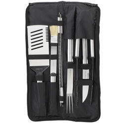 Stainless Steel 9-Piece Barbecue Tools Set
