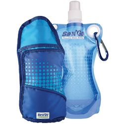 Reusable Water Bottle and Sport Pack Set