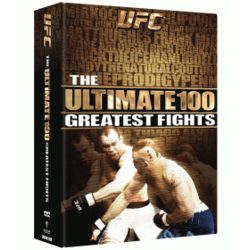 UFCUltimate 100 Greatest Fights DVD Set