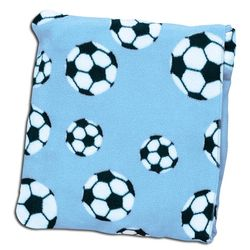 Soccer Pocket Throw Blanket