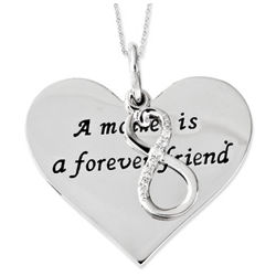Mother Is A Forever Friend Necklace