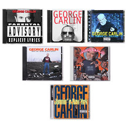 "George Carlin ""What Am I Doing in New Jersey"" CD"