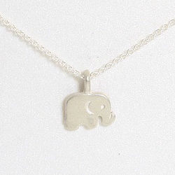 Good Luck Elephant Reminder Necklace