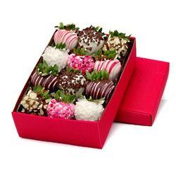 Valentine's Day Chocolate-Covered Strawberries