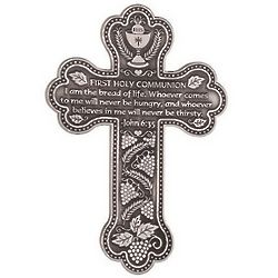 Pewter Communion Wall Cross