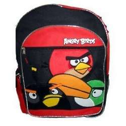 Angry Birds Large Red Black Toucan Backpack