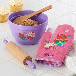 Cupcake Kid's Kitchen Baking Set