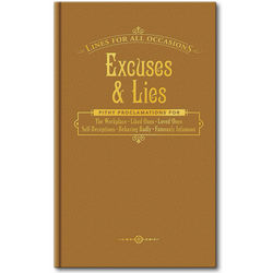 Excuses & Lies for All Occasions Book