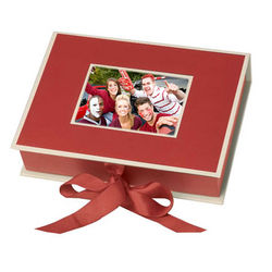 Small Photo Box with Ribbon