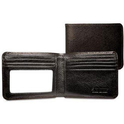 Prestige Brown Leather Bi-Fold Wallet