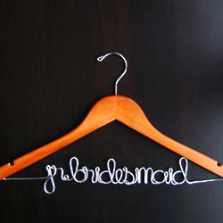 Customized Jr. Bridesmaid Hanger