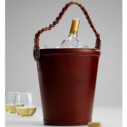 Leather Wine Bucket