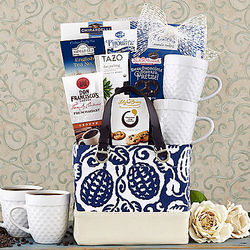Mom's Coffee, Tea and Cocoa Gift Basket