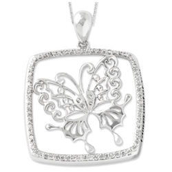 I Am Proud of You Butterfly Necklace