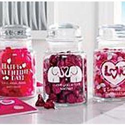 Personalized Valentine Treat Jar
