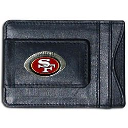 NFL Leather Wallet and Money Clip