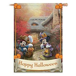 Disney Happy Halloween Flag