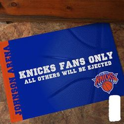 Personalized NBA Basketball Doormat