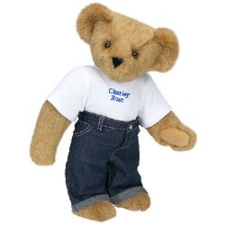 Basics Teddy Bear with Jeans
