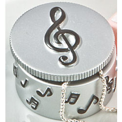 Musical Note Trinket Box