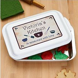 Personalized Seasoned with Love Baking Pan