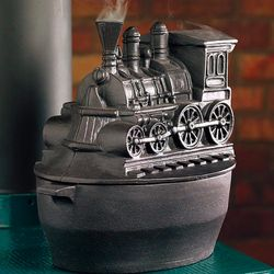 Train Wood Stove Steamer