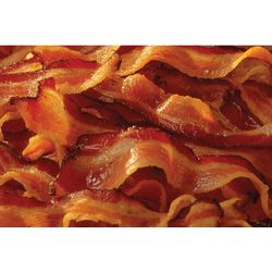 Bacon Print Doormat