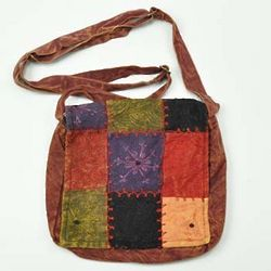 Dharma Patchwork Mini Messenger Bag