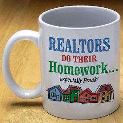 Realtors Homework Coffee Mug