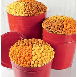 6 1/2 Gallon 3-Way Really Red Popcorn Tin