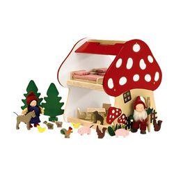 Mushroom Gnome House